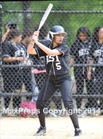 This MaxPreps.com professional photo features Green high school Gabriela Suarez playing  Softball. This photo was shot by Ashley Marshall and published on Marshall.