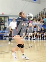 This MaxPreps.com professional photo features St. Paul high school Cielo Frausto-Lupo playing  Volleyball. This photo was shot by Ming Chung Lin and published on Lin.