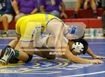 This MaxPreps.com professional photo is from the gallery CIF Central Section Boys Wrestling Masters (Consolation Finals) which features Madera South high school athletes playing  Wrestling. This photo was shot by Joe Bergman and published on Bergman.