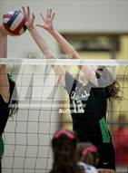 This MaxPreps.com professional photo is from the gallery Carroll vs Byron Nelson which features Carroll high school athletes playing  Volleyball.