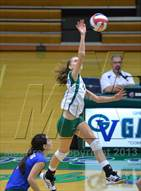 This MaxPreps.com professional photo is from the gallery Basic @ Green Valley which features Green Valley high school athletes playing  Volleyball.