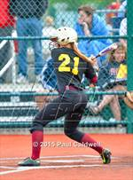 This MaxPreps.com professional photo features Prairie high school Jamie Phares playing  Softball. This photo was shot by Paul Caldwell and published on Caldwell.