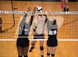 This MaxPreps.com professional photo is from the gallery Mt. Carmel @ St. Mary's Dominican which features Mt. Carmel high school athletes playing  Volleyball. This photo was shot by Gregory Juan and published on Juan.
