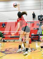 This MaxPreps.com professional photo is from the gallery Basha @ Liberty  which features Liberty high school athletes playing  Volleyball.
