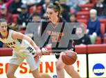 This MaxPreps.com professional photo features Archbishop Murphy high school Emily Rodabaugh playing Girls Basketball. This photo was shot by Vince Miller and published on Miller.