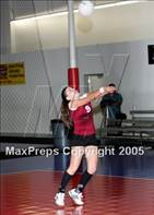 This MaxPreps.com professional photo is from the gallery West Covina @ Western Christian which features West Covina high school athletes playing  Volleyball.
