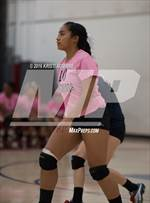 This MaxPreps.com professional photo is from the gallery Perris @ Heritage which features Perris high school athletes playing  Volleyball. This photo was shot by Kristi Aguirre and published on Aguirre.