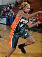 This MaxPreps.com professional photo is from the gallery Poly vs. Narbonne (Ladycat Classic) which features Poly high school athletes playing Girls Basketball.