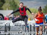 This MaxPreps.com professional photo is from the gallery UHSAA Region 8 Track and Field Championships (Girls) which features Spanish Fork high school athletes playing Girls Track & Field. This photo was shot by Jeff Porcaro and published on Porcaro.
