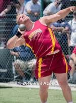 This MaxPreps.com professional photo is from the gallery CIF Southern Section Track and Field Divisional Finals which features Salesian high school athletes playing  Track & Field. This photo was shot by Phil Acosta and published on Acosta.
