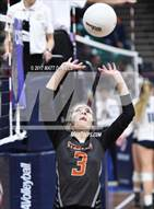 This MaxPreps.com professional photo is from the gallery Lutheran vs. Sterling (CHSAA 3A Pool 2) which features Sterling high school athletes playing  Volleyball.