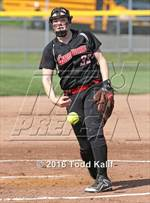 This MaxPreps.com professional photo features Cheshire high school Abigail Abramson playing  Softball. This photo was shot by Todd Kalif and published on Kalif.