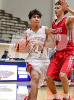 This MaxPreps.com professional photo features Lee high school Mark Cortinas playing  Basketball. This photo was shot by Joe Calomeni and published on Calomeni.