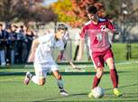 This MaxPreps.com professional photo is from the gallery St. Joseph's Collegiate Institute vs Canisius (Monsignor Martin Class A Final) which features St. Joseph's Collegiate Institute high school athletes playing  Soccer. This photo was shot by Terry Wherry and published on Wherry.