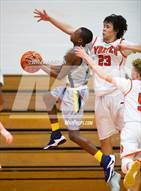 This MaxPreps.com professional photo is from the gallery Inderkum @ Woodland which features Woodland high school athletes playing  Basketball.
