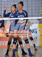 This MaxPreps.com professional photo is from the gallery Sacred Heart Prep vs. Sierra Canyon (CIF State D2 Final) which features Sierra Canyon high school athletes playing  Volleyball.