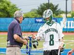 This MaxPreps.com professional photo is from the gallery Yorktown vs. Jamesville-DeWitt (NYSPHSAA Class B Final) which features Yorktown high school athletes playing  Lacrosse. This photo was shot by William Pine and published on Pine.