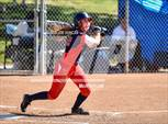 This MaxPreps.com professional photo features Tesoro high school Hallie Goldman playing  Softball. This photo was shot by Joe Duncan and published on Duncan.