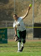 This MaxPreps.com professional photo is from the gallery Villa Park @ Brea Olinda which features Brea Olinda high school athletes playing  Softball.