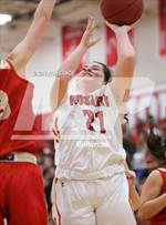 This MaxPreps.com professional photo features Rosary Academy high school Dalaney Fernandez playing Girls Basketball. This photo was shot by Rich Lawce and published on Lawce.