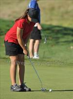 This MaxPreps.com professional photo is from the gallery CIF SJS Masters Championship which features Mira Loma high school athletes playing Girls Golf. This photo was shot by David Steutel and published on Steutel.