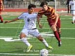 This MaxPreps.com professional photo features La Canada high school Luke Bonham playing  Soccer. This photo was shot by Tom Houston and published on Houston.