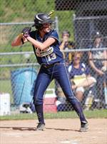This MaxPreps.com professional photo is from the gallery Clarion-Limestone @ Coudersport (District IX Class A 1st Round Playoff) which features Clarion-Limestone high school athletes playing  Softball. This photo was shot by Paul Burdick and published on Burdick.