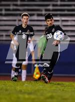 This MaxPreps.com professional photo features Newark Memorial high school Rahil Shankar playing  Soccer. This photo was shot by Jim Malone and published on Malone.