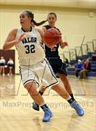 This MaxPreps.com professional photo is from the gallery Dakota Ridge @ Valor Christian which features Dakota Ridge high school athletes playing Girls Basketball.