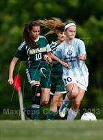 This MaxPreps.com professional photo is from the gallery Notre Dame vs Bayless (MSHSAA Class 1 District 2 Final) which features Notre Dame high school athletes playing Girls Soccer. This photo was shot by Tim Spyers and published on Spyers.