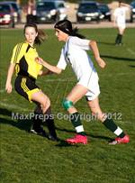 This MaxPreps.com professional photo features Elliot Christian high school Sarah Maddox playing Girls Soccer. This photo was shot by Marty  Bicek  and published on Bicek .