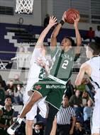 This MaxPreps.com professional photo is from the gallery Strake Jesuit vs. Elliot Christian (St. Hope Elite Classic) which features Strake Jesuit high school athletes playing  Basketball.