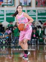 This MaxPreps.com professional photo features Triton Central high school Shelden Welty playing Girls Basketball. This photo was shot by Warren Robison and published on Robison.