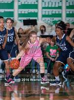 This MaxPreps.com professional photo features Triton Central high school Allison Baker playing Girls Basketball. This photo was shot by Warren Robison and published on Robison.