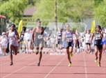 This MaxPreps.com professional photo is from the gallery AIA Track & Field Championships (Girls 100 Meter Dash) which features Tucson High Magnet School high school athletes playing Girls Track & Field. This photo was shot by Darin Sicurello and published on Sicurello.