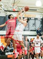 This MaxPreps.com professional photo is from the gallery Palma @ Los Gatos which features Palma high school athletes playing  Basketball.