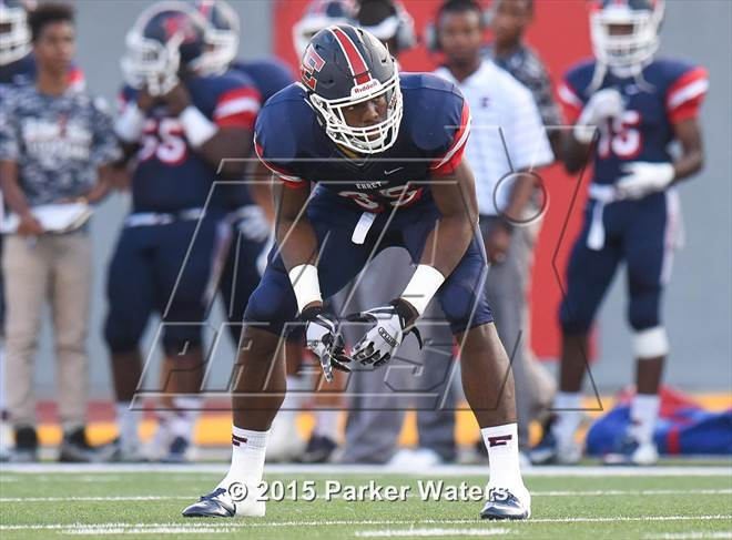 This MaxPreps.com professional photo is from the gallery National Signing Day: Top Linebackers and Defensive Backs which features athletes playing  Football. This photo was shot by Parker Waters and published on Waters.