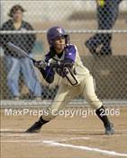 This MaxPreps.com professional photo is from the gallery Rio Mesa @ Valencia which features Valencia high school athletes playing  Softball.