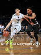 This MaxPreps.com professional photo is from the gallery Centennial vs. Chino Hills (CIF State Regional DIV 1) which features Chino Hills high school athletes playing  Basketball.