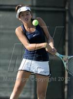 This MaxPreps.com professional photo is from the gallery CIF SS Girls Individual Tennis Championships (Quarterfinals) which features Claremont high school athletes playing Girls Tennis. This photo was shot by Heston Quan and published on Quan.
