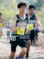 This MaxPreps.com professional photo is from the gallery CIF State Cross Country Championships (Boys D3 Race) which features Archbishop Riordan high school athletes playing  Cross Country. This photo was shot by Joe Bergman and published on Bergman.