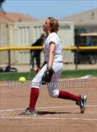 This MaxPreps.com professional photo is from the gallery Los Banos vs. Sierra (CIF SJS D4 Final) which features Los Banos high school athletes playing  Softball.
