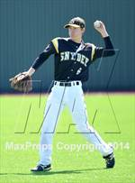 This MaxPreps.com professional photo features Snyder high school Brantley Stephens playing  Baseball. This photo was shot by Kyle Dantzler and published on Dantzler.
