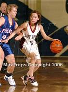 This MaxPreps.com professional photo is from the gallery Folsom vs. Bear River (Trojan Toss-Up) which features Bear River high school athletes playing Girls Basketball.