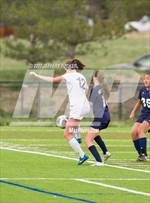 This MaxPreps.com professional photo features St. Mary's Academy high school  and Hailey Rhine playing Girls Soccer. This photo was shot by Jeffery Tucker and published on Tucker.