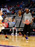 This MaxPreps.com professional photo is from the gallery Antelope vs Sacramento (CIF SJS D2 Final) which features Sacramento high school athletes playing Girls Basketball.