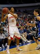 This MaxPreps.com professional photo is from the gallery South Grand Prairie vs. Plano West (UIL Texas 5A Area Playoff) which features South Grand Prairie high school athletes playing  Basketball.