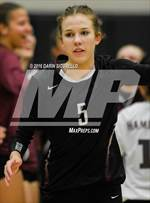 This MaxPreps.com professional photo features Hamilton high school Taylor Jacobsen playing  Volleyball. This photo was shot by Darin Sicurello and published on Sicurello.