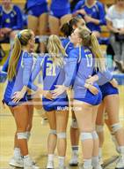 This MaxPreps.com professional photo is from the gallery Tesoro @ Santa Margarita (CIF SS D2 Playoff) which features Santa Margarita high school athletes playing  Volleyball.