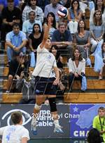 This MaxPreps.com professional photo is from the gallery Mira Costa vs. Corona del Mar (CIF SoCal Regional D1 Final) which features Mira Costa high school athletes playing Boys Volleyball. This photo was shot by Daryl Chan and published on Chan.